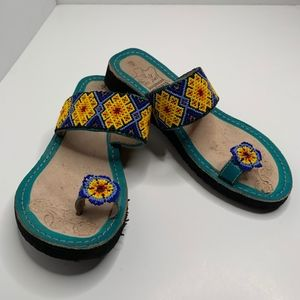 Shoes - Mexican Sandals Leather size 7